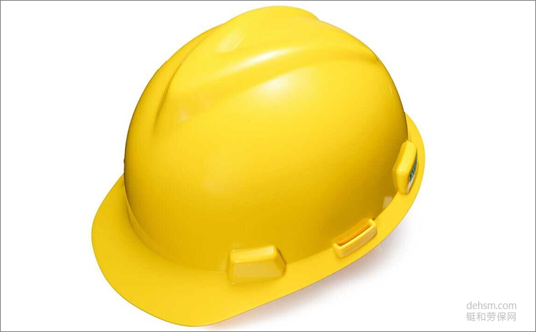 MSA梅思安10146507黄色ABS安全帽图片