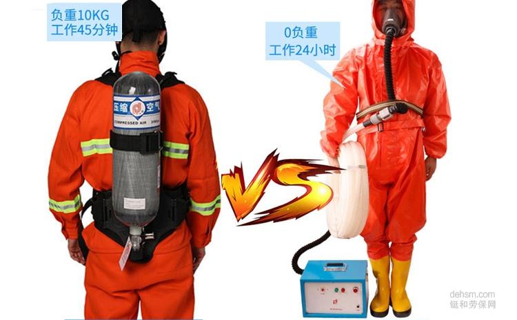 空气呼吸器和长管呼吸器原理一样吗