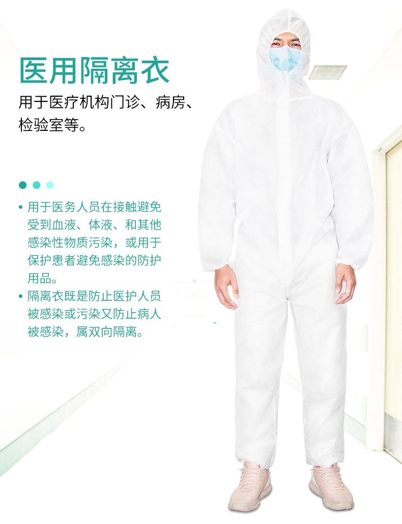 一次性医用隔离衣产品介绍