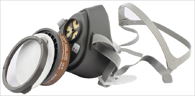 3m3200防毒面具图片2