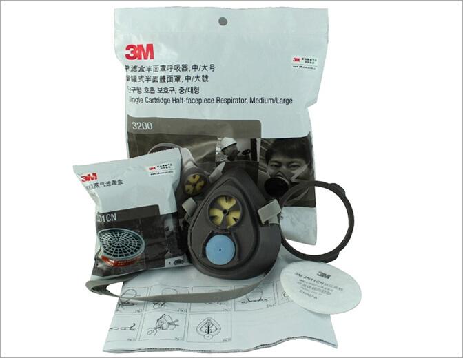 3m3200防毒面具图片4
