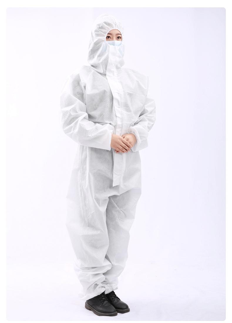 一次性使用医用隔离衣穿戴图片1