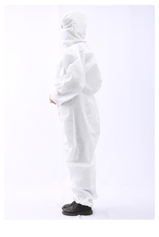 一次性使用医用隔离衣穿戴图片2