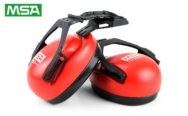 msa梅思安SOR14012头盔式防噪音耳罩