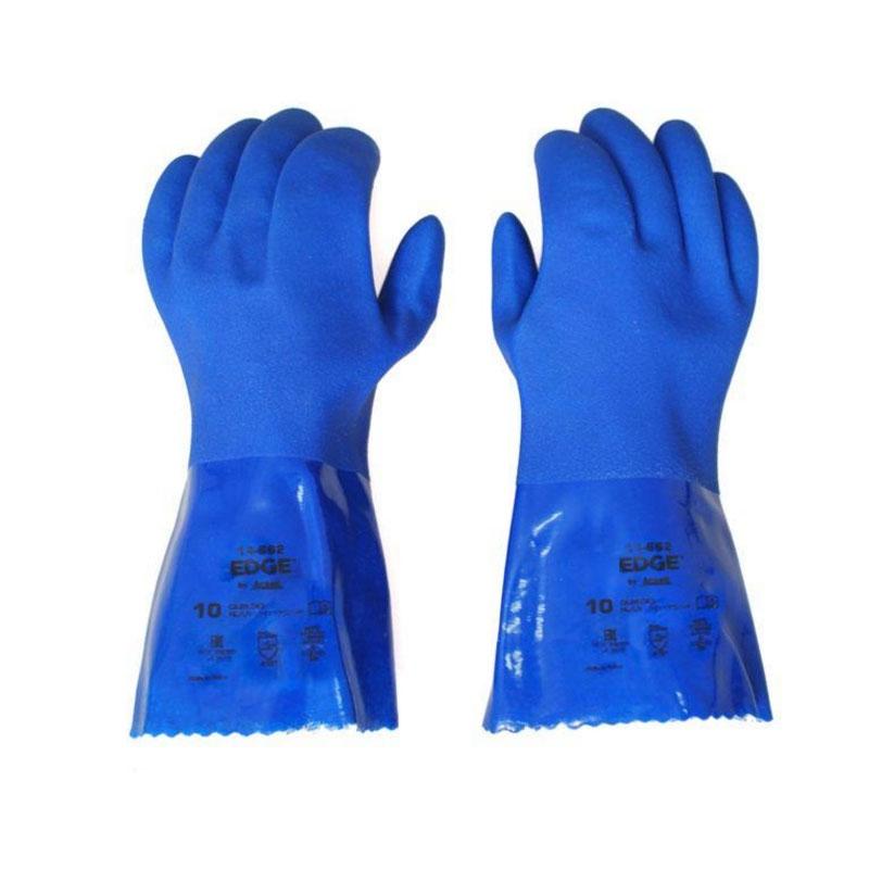 安思尔14-666 PVC防化手套图2