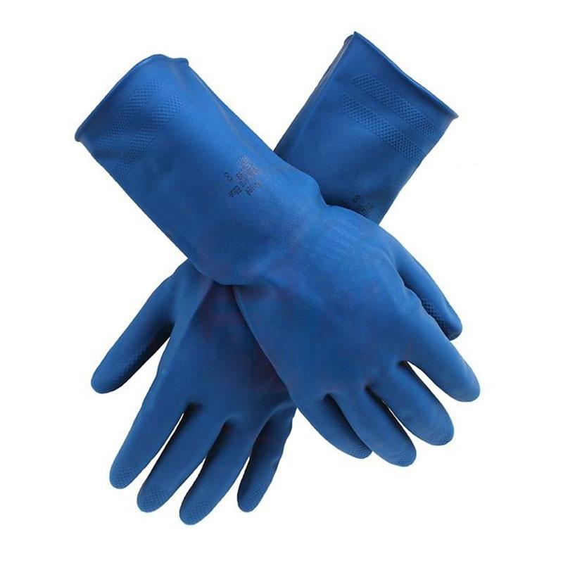 安思尔14-666 PVC防化手套图3