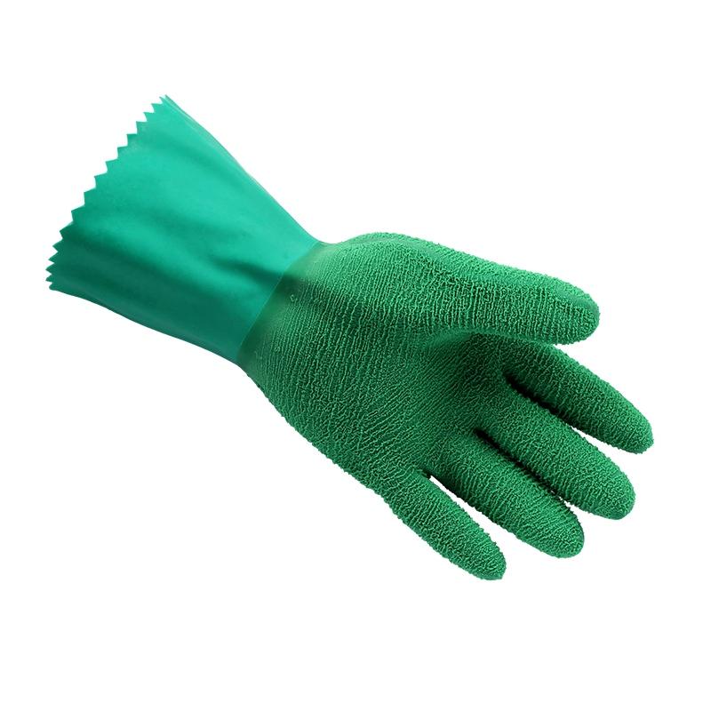 安思尔16-650丁腈防化耐高温手套图2