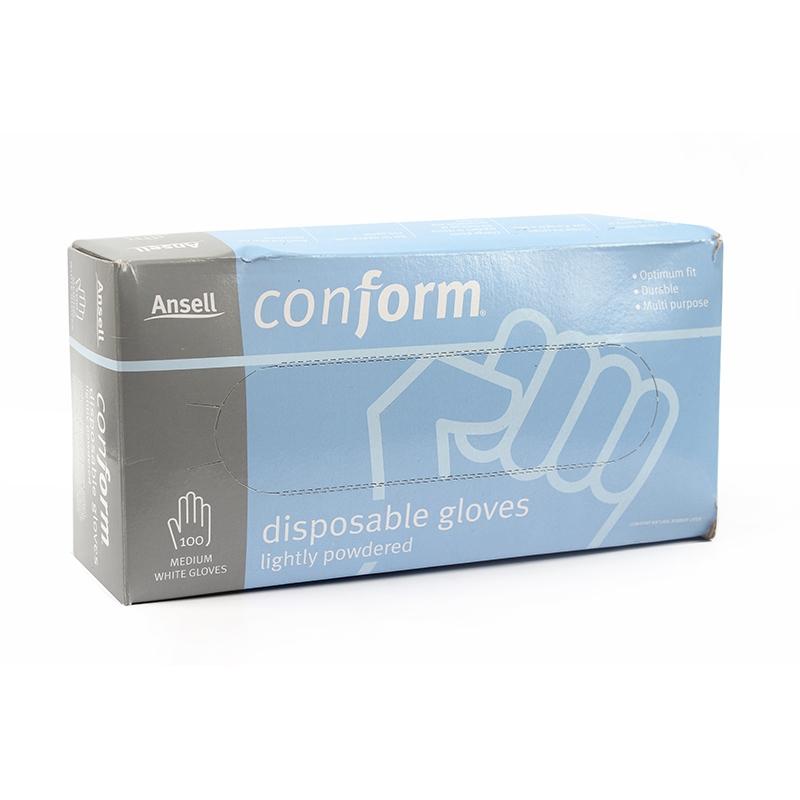安思尔8443一次性天然乳胶手套图4