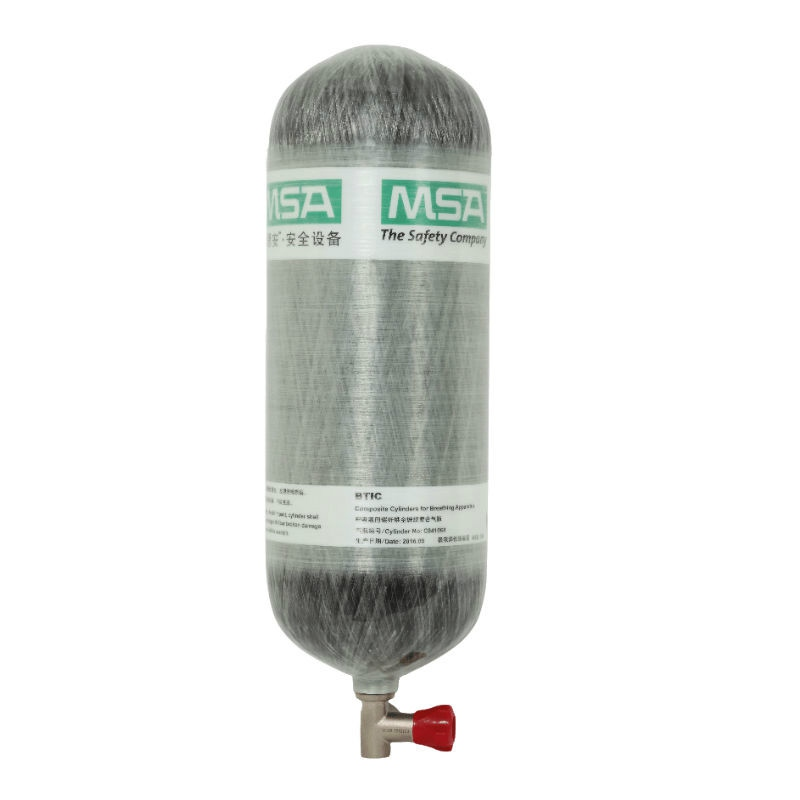 梅思安10121838空气呼吸器(6.8L)不带表BTIC碳纤气瓶图1