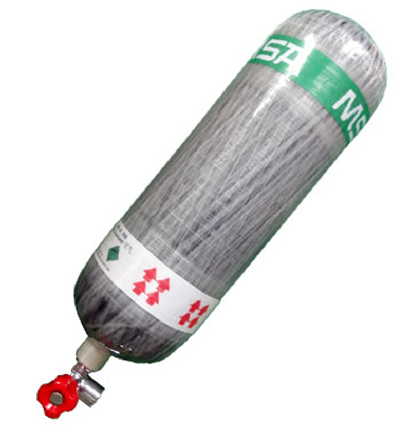 梅思安10121838空气呼吸器(6.8L)不带表BTIC碳纤气瓶图2