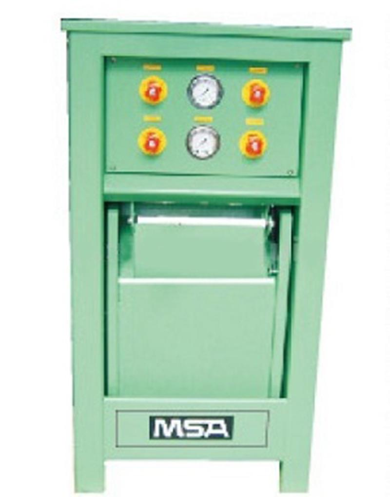 梅思安3585020G两工位防爆充气箱(带调压功能)图1