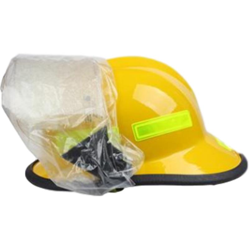 梅思安10107114-a黄色F3美式铝质披肩消防头盔图2