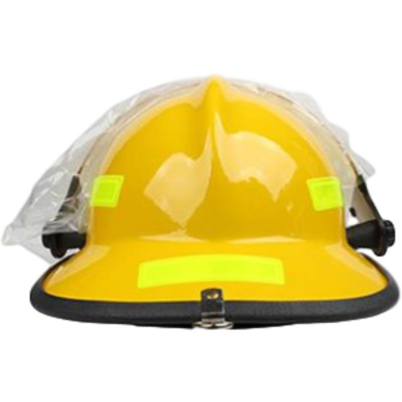 梅思安10107114-a黄色F3美式铝质披肩消防头盔图3