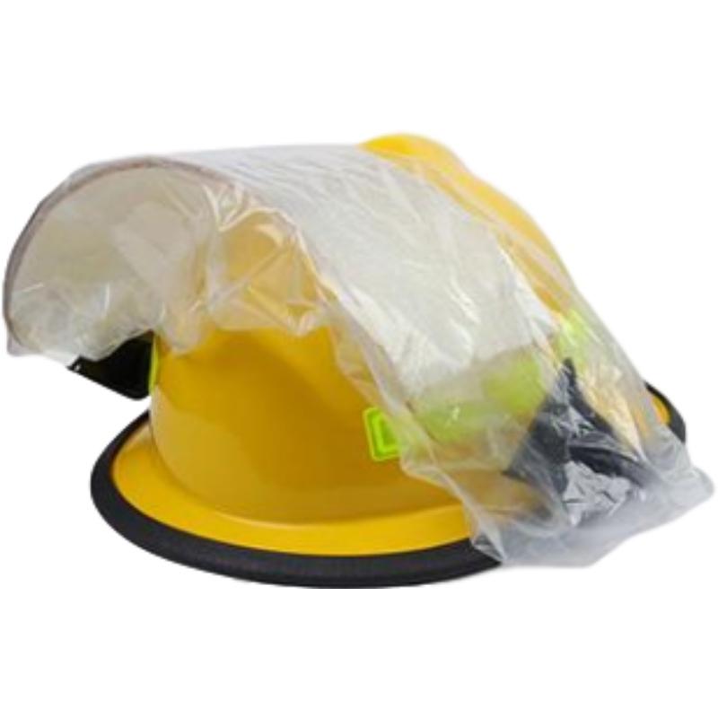 梅思安10107114-a黄色F3美式铝质披肩消防头盔图4
