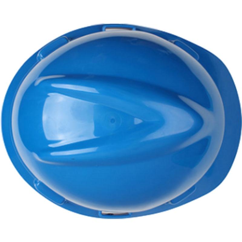 梅思安10146462蓝色标准型PE安全帽图4