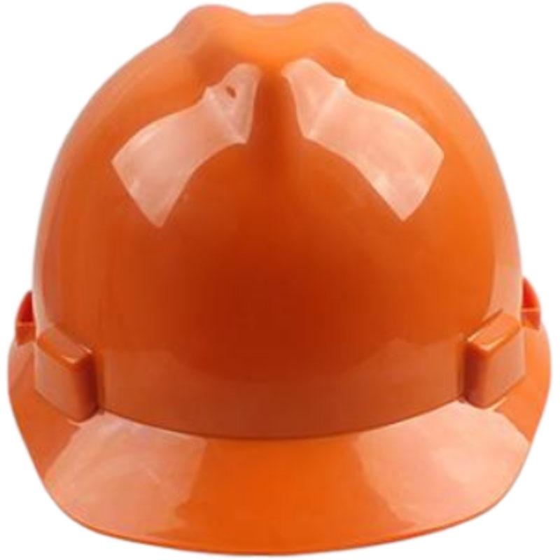 梅思安10146460橙色标准型PE安全帽图2
