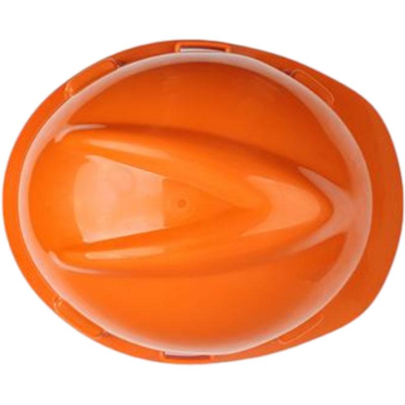 梅思安10146460橙色标准型PE安全帽图3