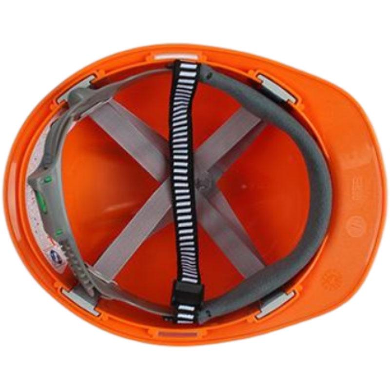 梅思安10146460橙色标准型PE安全帽图4