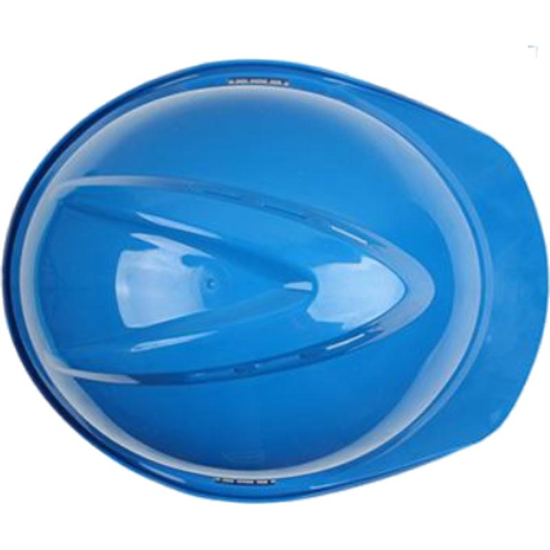 梅思安10146615蓝色豪华PE安全帽图3
