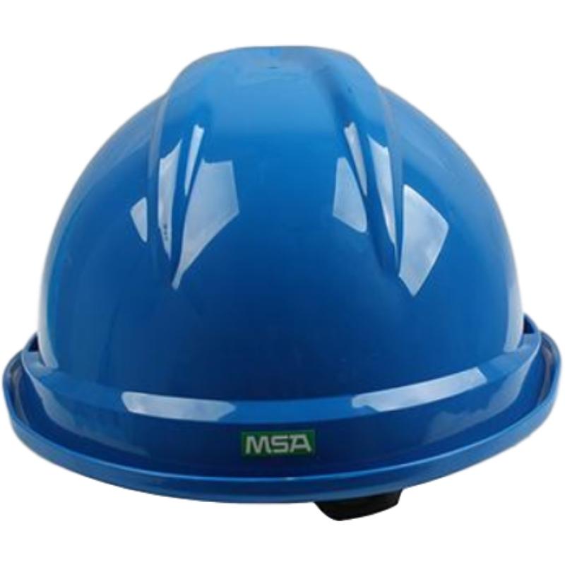 梅思安10146615蓝色豪华PE安全帽图4