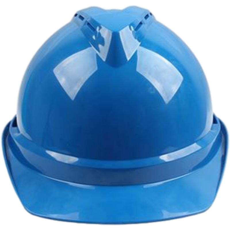 梅思安10146615蓝色豪华PE安全帽图5