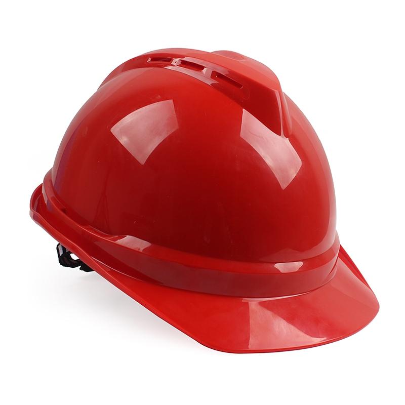 梅思安10146614红色豪华PE安全帽图1