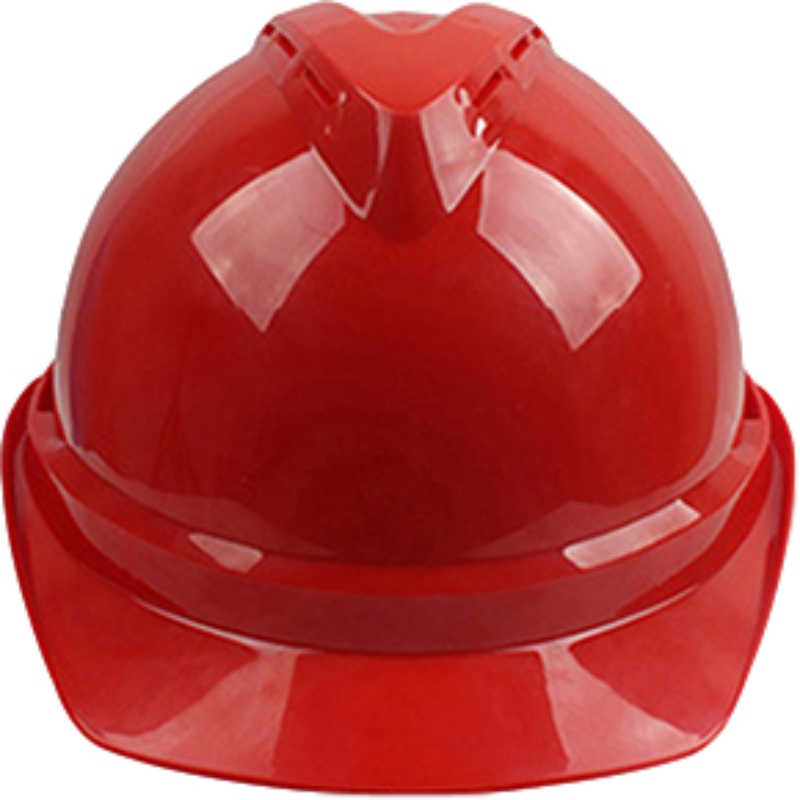 梅思安10146614红色豪华PE安全帽图4