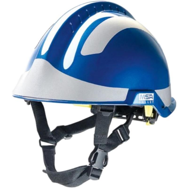 梅思安10164321蓝色F2 XTREM救援消防头盔图1