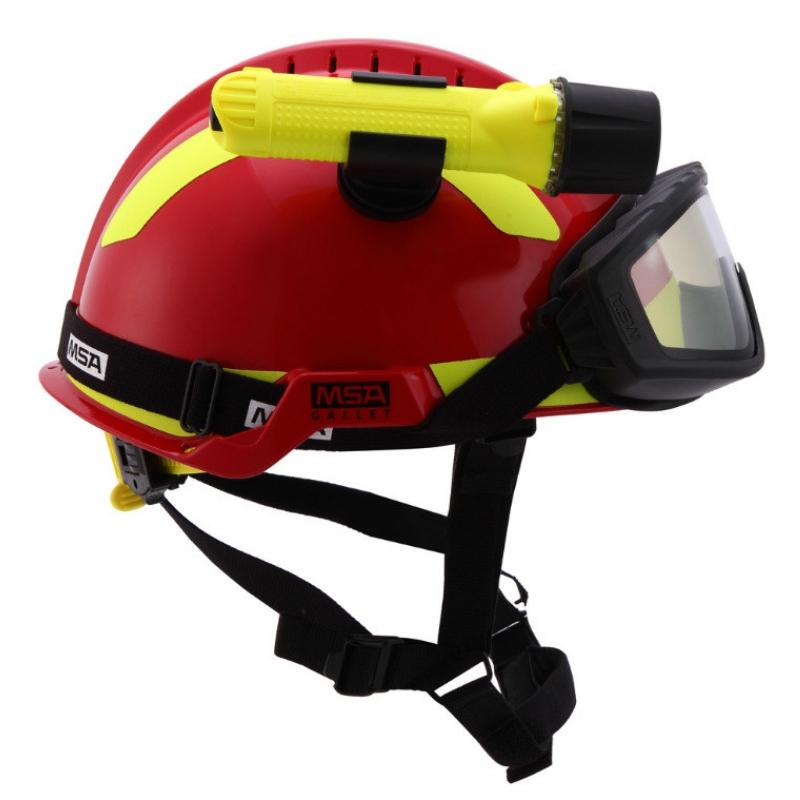 梅思安10164314橘红F2 XTREM救援消防头盔图1
