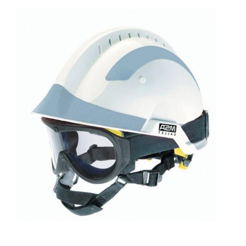 梅思安10164319白色F2 XTREM救援消防头盔图1