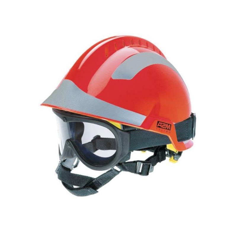 梅思安10164319白色F2 XTREM救援消防头盔图3