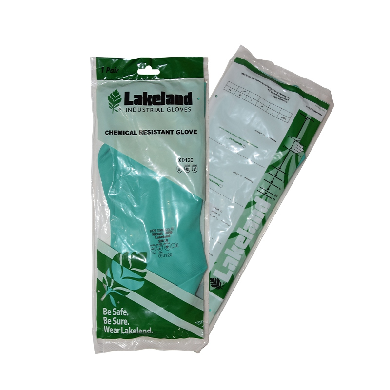 雷克兰EN22L丁腈橡胶防化手套图3