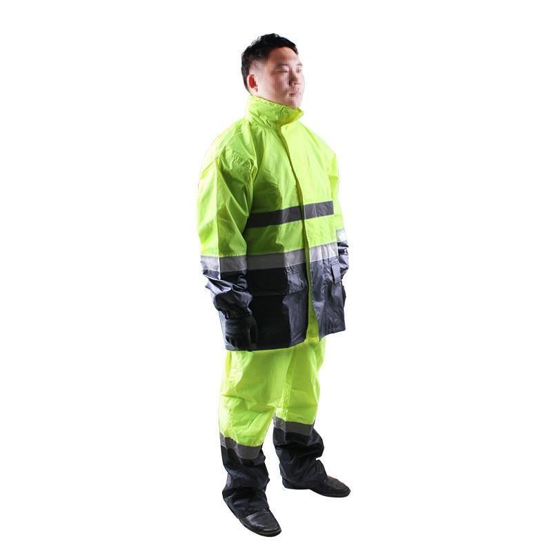 3M R2912荧光黄PVC防水安全警示服图3