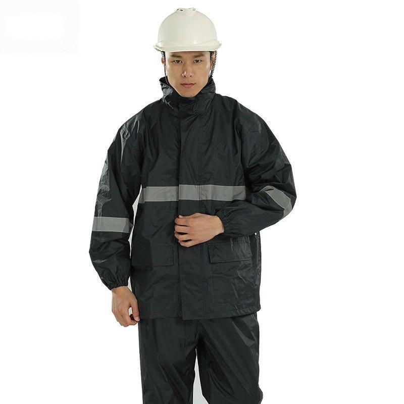 3M R2911藏青色PVC防水安全警示服图1