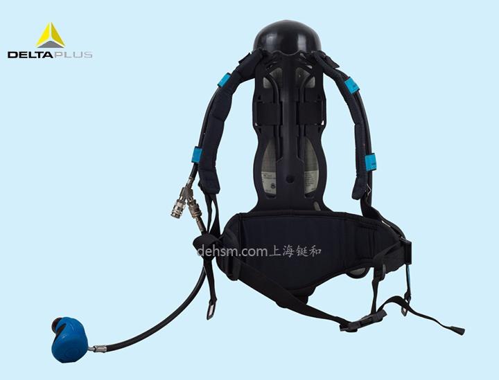 代尔塔106005正压式空气呼吸器图片-反面