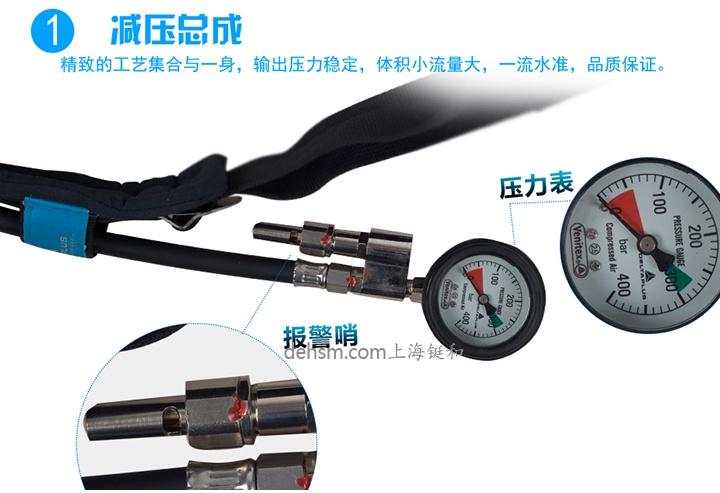 代尔塔106005正压式空气呼吸器减压总成