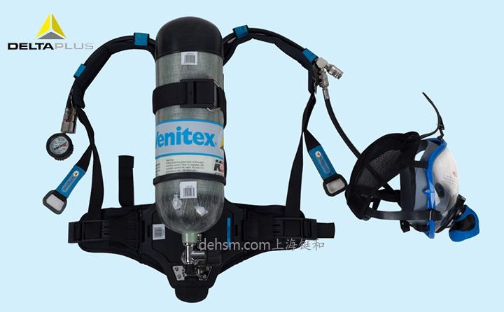 代尔塔106005正压式空气呼吸器图片-正面