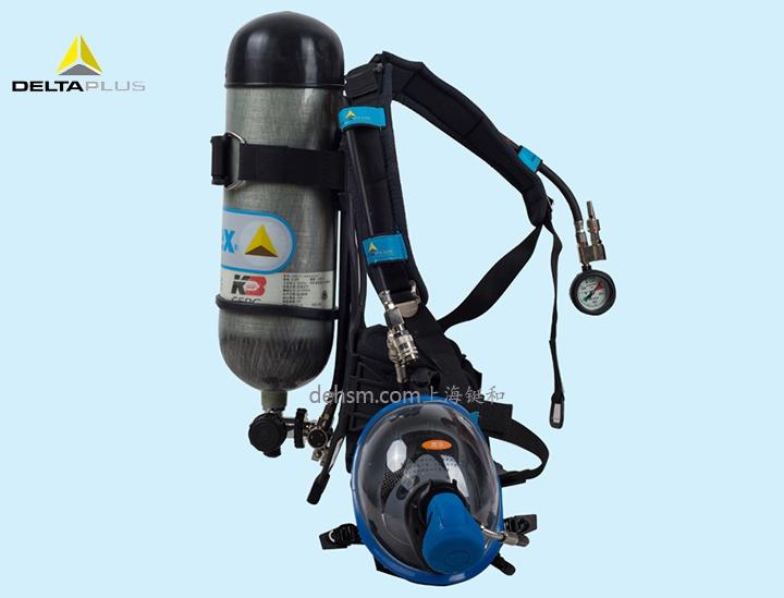 代尔塔106005正压式空气呼吸器图片-侧面