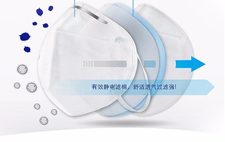 3M9005KN90口罩静电滤棉