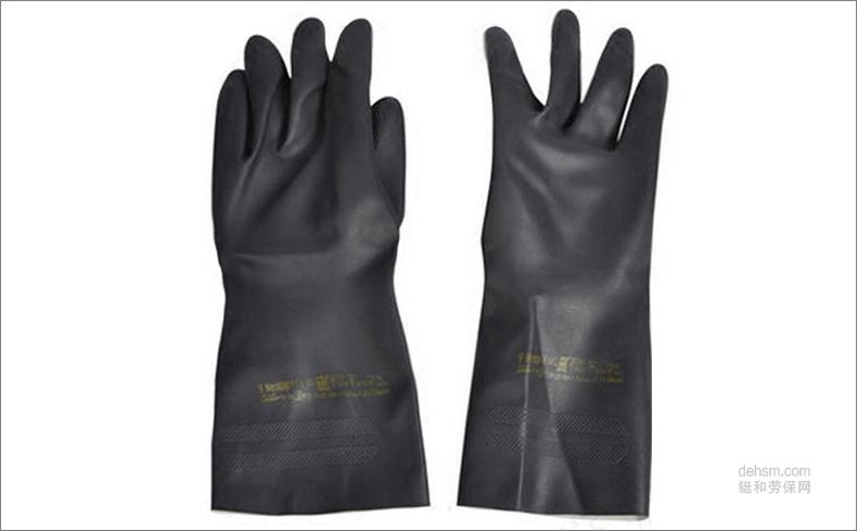 安思尔29-500氯丁橡胶手套图片-手背