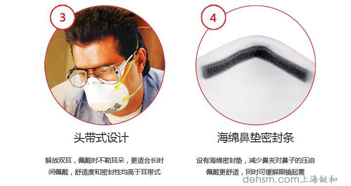 3m8210口罩鼻梁铝条设计