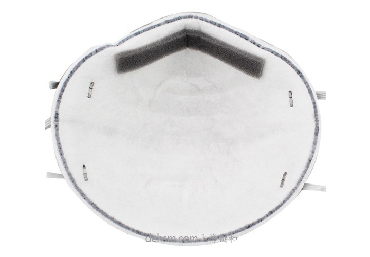 3M8247R95有机蒸气异味及颗粒物防护口罩反面图片