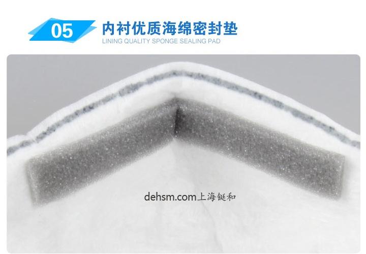 3M8247R95有机蒸气异味及颗粒物防护口罩内衬优质海绵