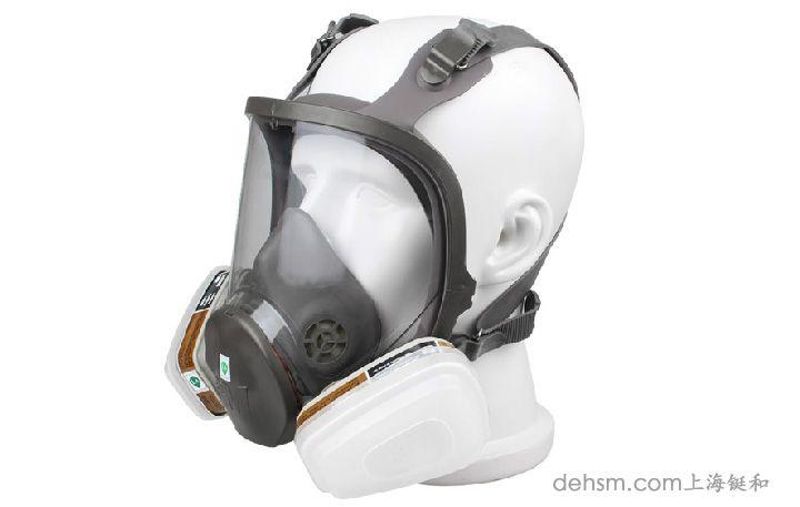 3m6800防毒面具侧面图片