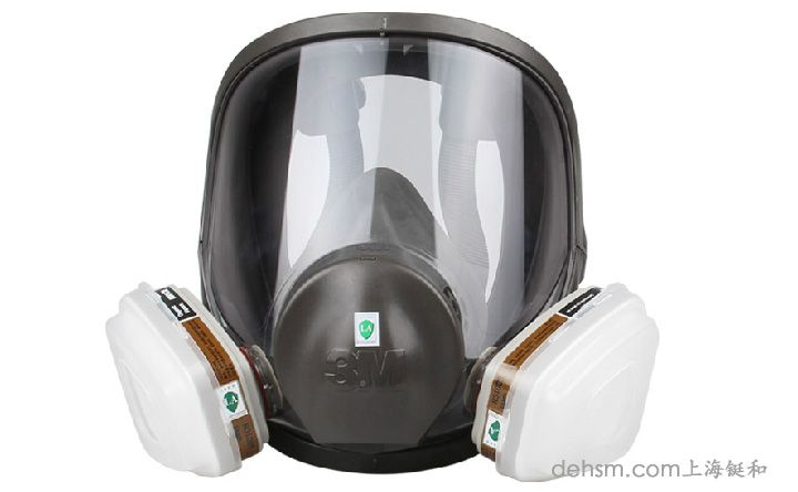 3m6800防毒面具正面图片