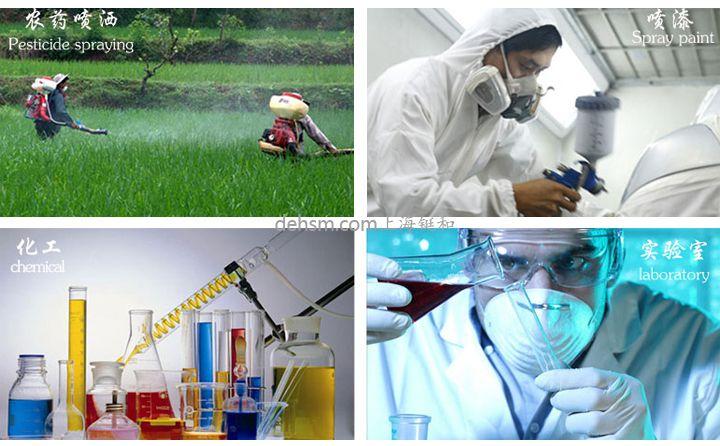 3M6200+6006防多种气体防毒面具使用领域